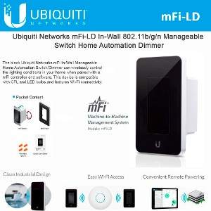 Ubiquiti mPower Mini 2Units 1Port mFi Power Outlet Wifi Connectivity 802.11b//g//n