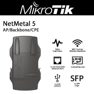 MikroTik LDF 5 2-Units Dual Chain 5GHz Dish Feed for Satellite Offset Dish Antenna US Version